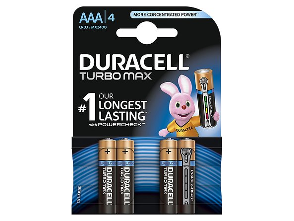 baterie Duracell Turbo AAA/LR03, 46526