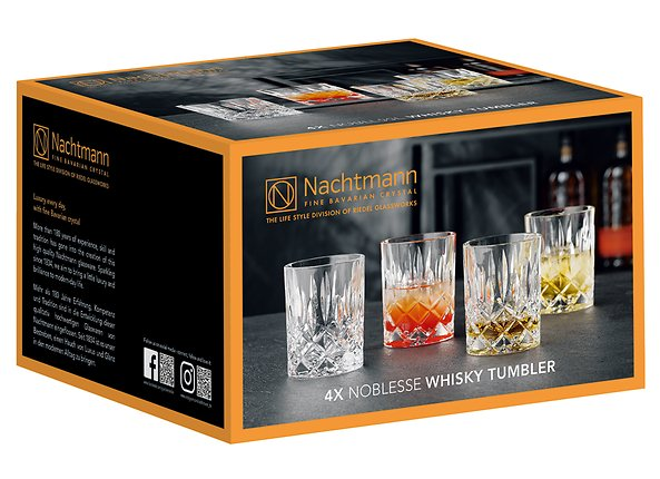 kpl. 4 szklanek do whisky Noblesse, 108387