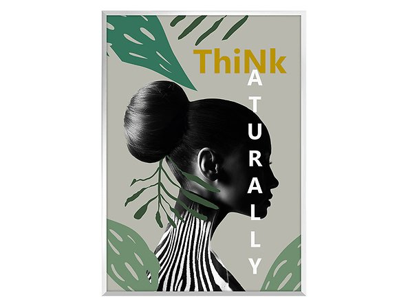 obraz Think naturally, 44369