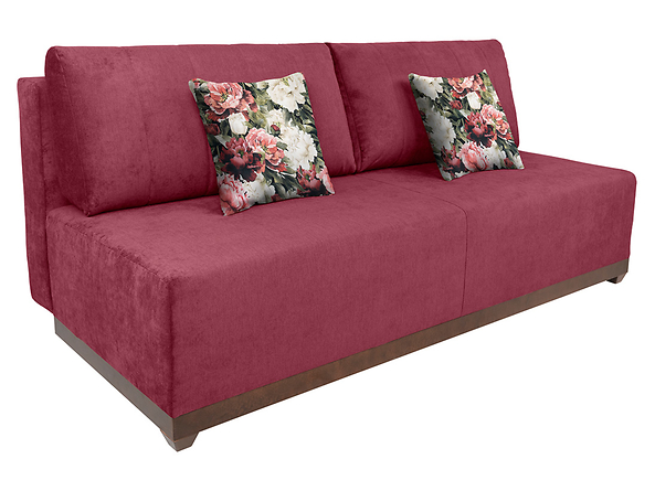 sofa Arbela, Tkanina Print Piwonia L827 Purple/Milton New 09 Purple, 99258