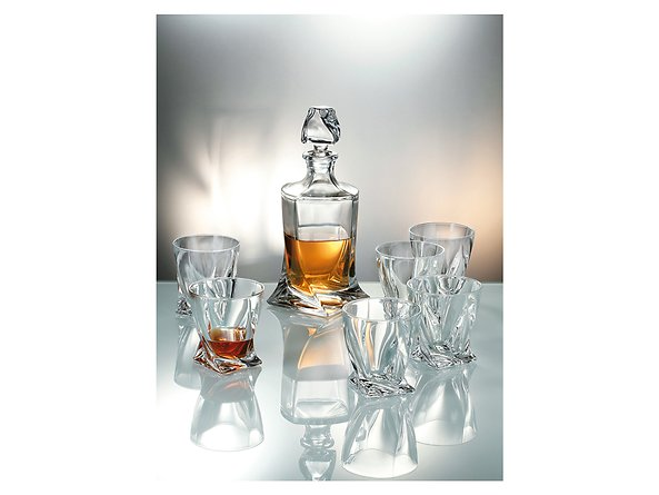 zestaw do whisky Quadro, 41299