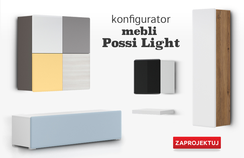 Konfigurator mebli Possi Light