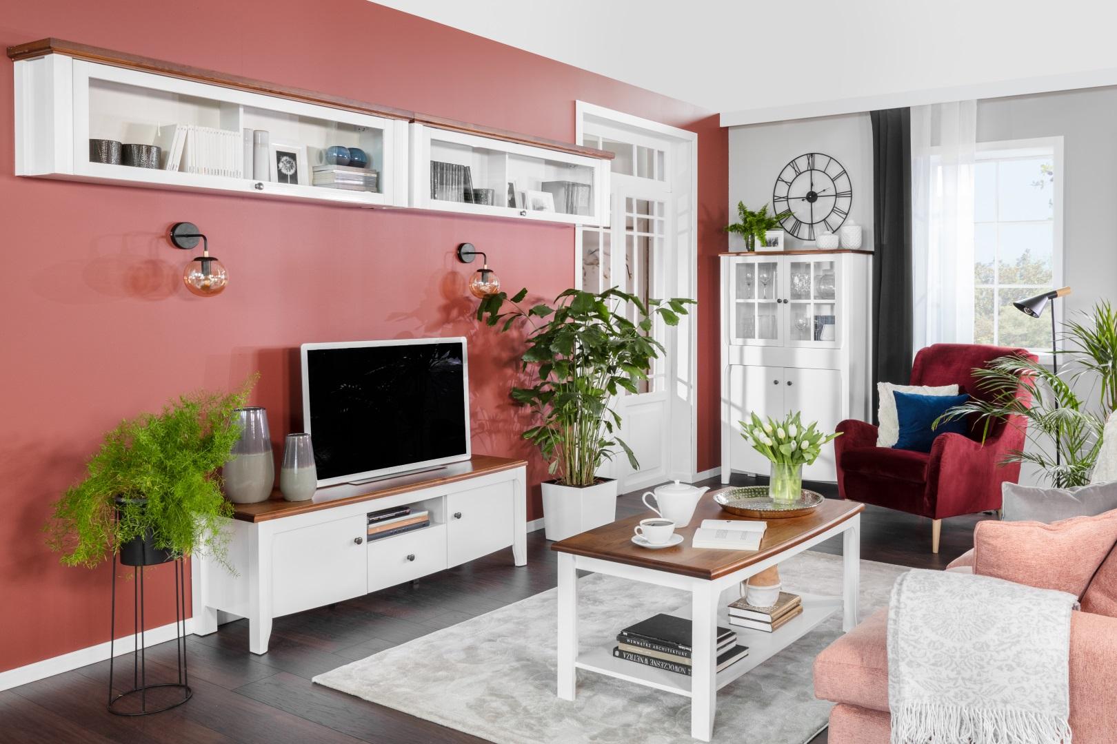Kalio - klasyczny salon Black Red White