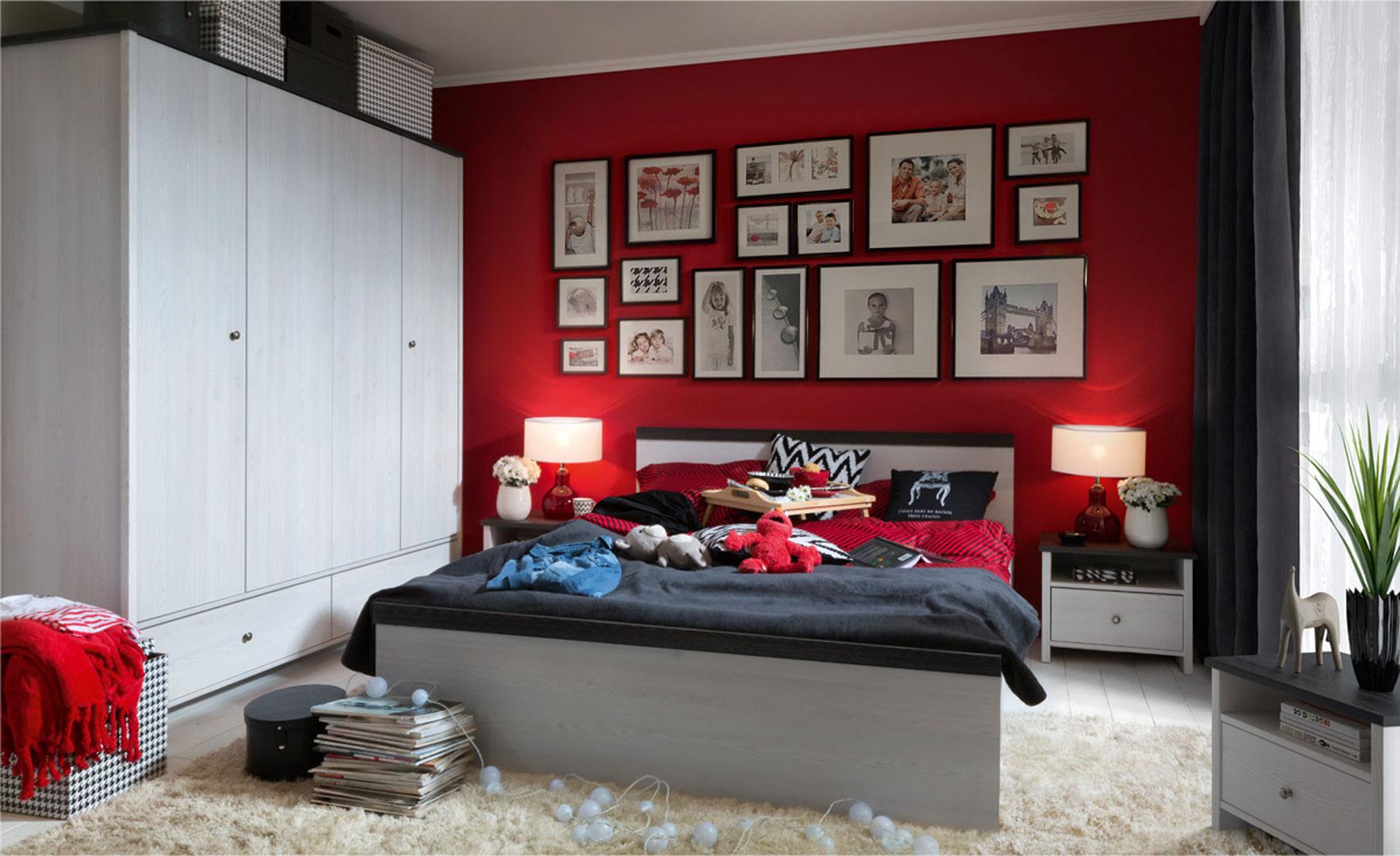 Porto - aranżacja sypialni