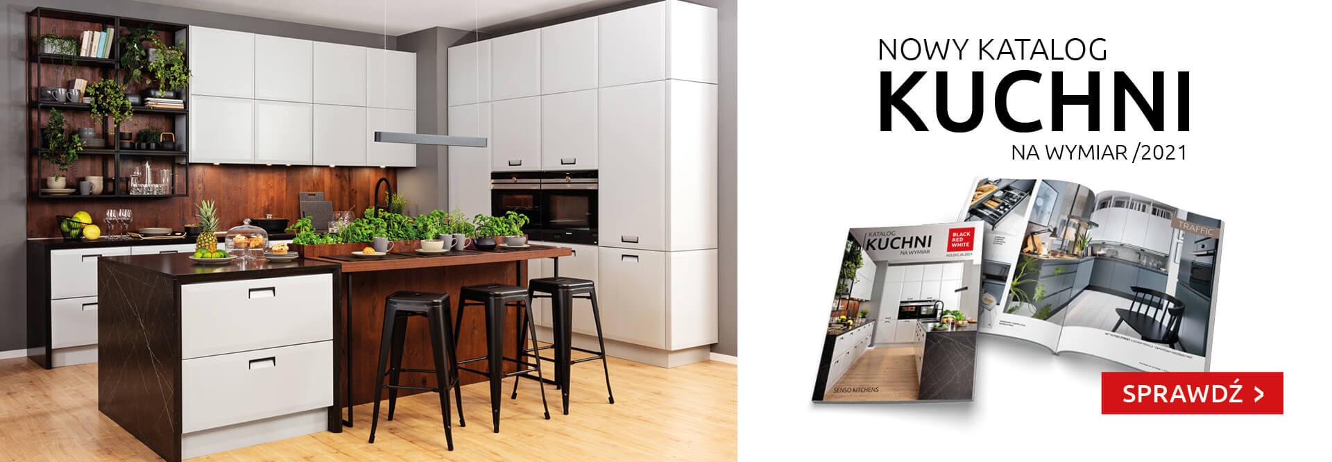 Nowy katalog kuchnie na wymiar Black Red White. Sprawdź!