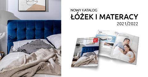 Katalog łóżka i materace 2021/2022 tylko w Black Red White. Sprawdź!
