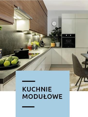 kuchnie modułowe w Black Red White