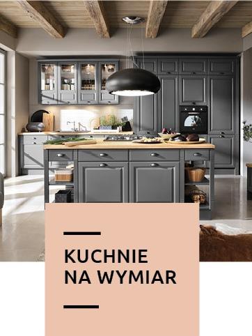 kuchnie na wymiar w Black Red White
