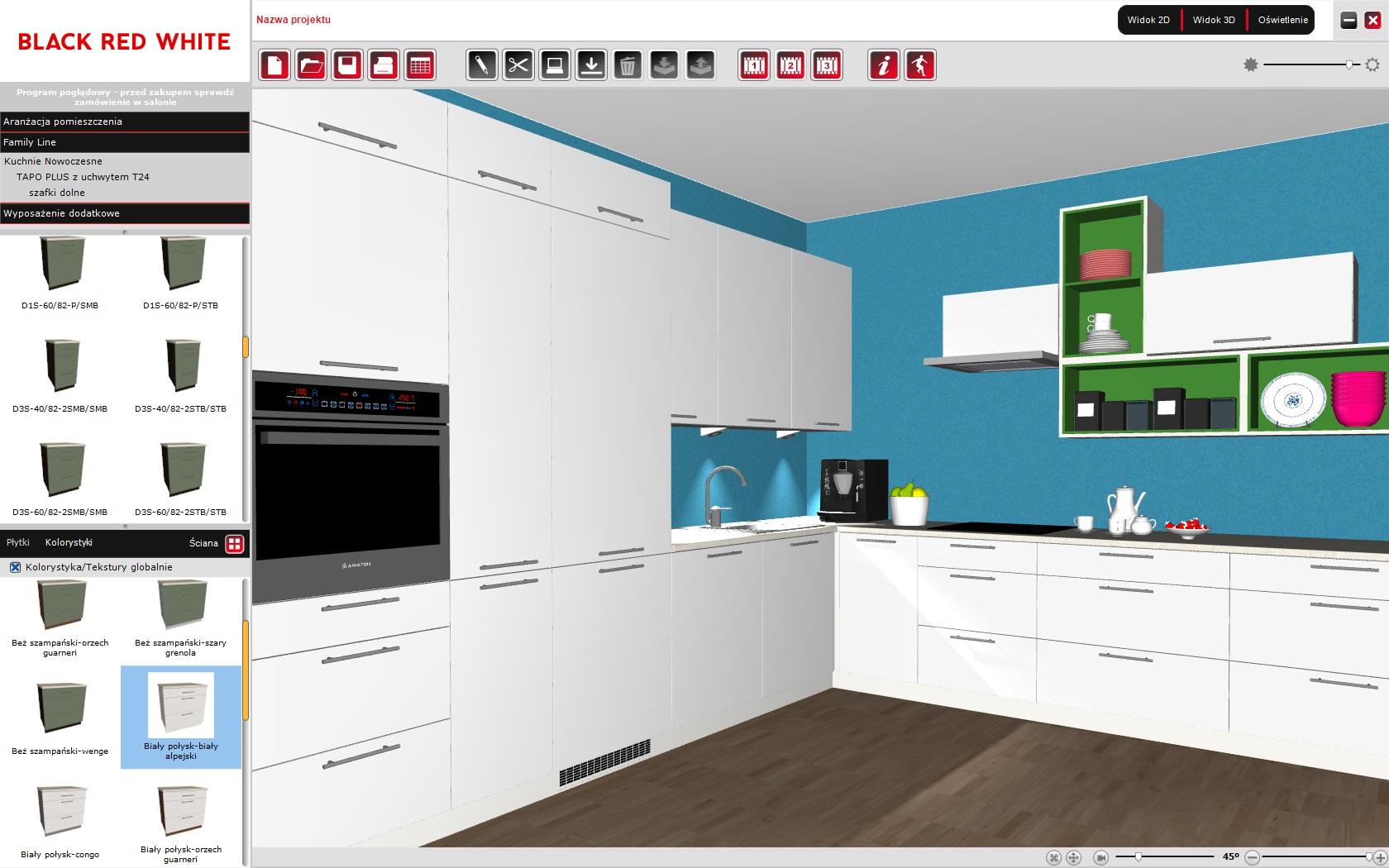Zaprojektuj Sam Swoje Nowe Wnętrze Pokoju Kuchni Black