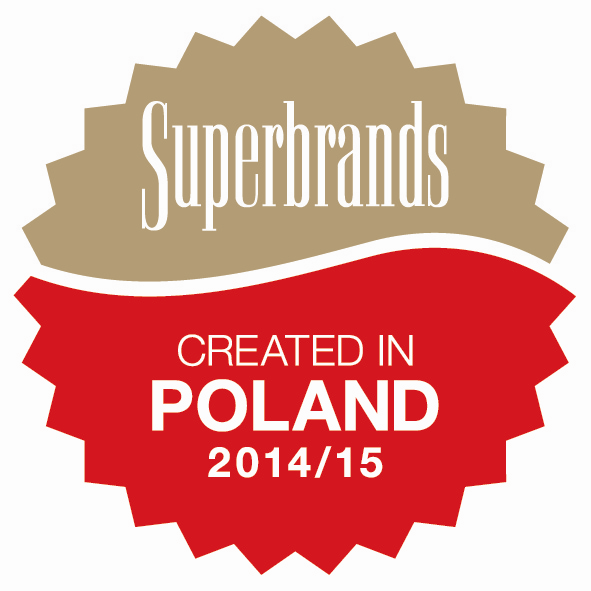 Created in Poland Superbrands 2014/15 dla Black Red White!