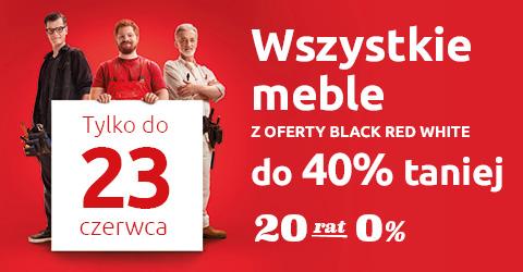 Wszystkie meble z oferty Black Red White do 40% taniej. Sprawdź!