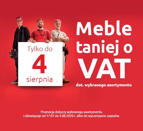 Meble taniej o VAT tylko w Black Red White. Sprawdź!