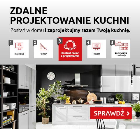 Zdalne projektowanie kuchni z Black Red White. Sprawdź!