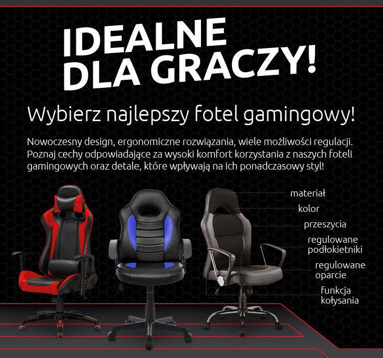 Wybierz najlepszy fotel gamingowy! Sprawdź!