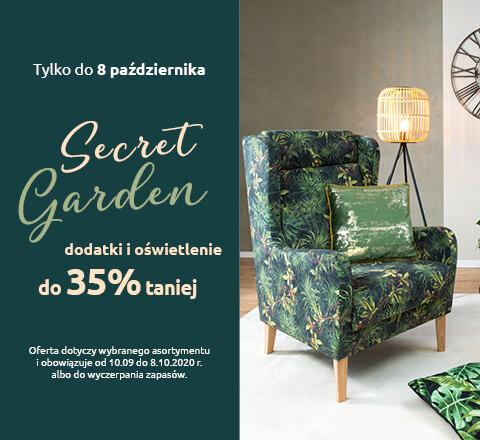 Secret Garden dodatki i oświetlenie do 35% taniej. Sprawdź!