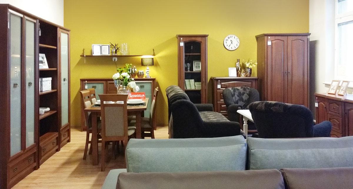 Ekspozycja mebli Black Red White w salonie partnetrskim w Goleniowie