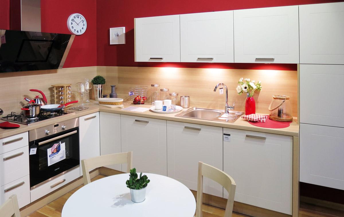 Meble kuchenne ceny black red white