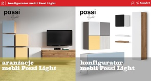 Konfigurator mebli Black Red White Possi