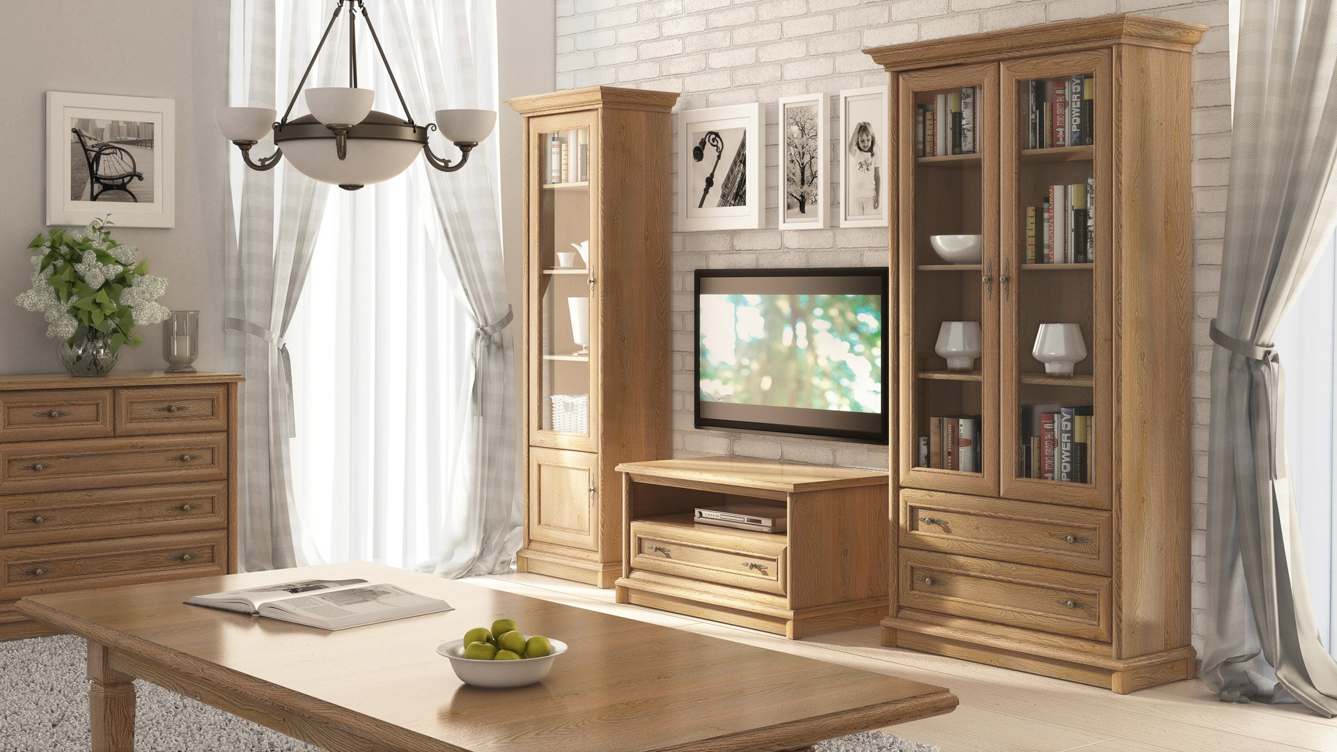 Tv cabinet kent 101cm x 54 5cm x 54 5cm furniture store brw - Signature interiors and design kent ...